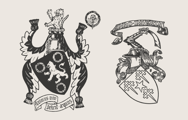 Vintage Coat Of Arms