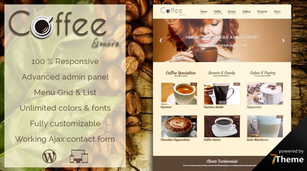 most creative wordpress themes - 1