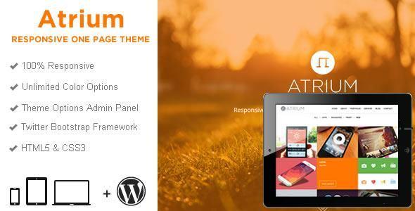 Responsive WordPress Templates - atrium_wp_wide