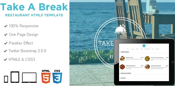 Responsive WordPress Templates - takeabreak_html