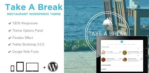 Responsive WordPress Templates - takeabreak_wp_wide