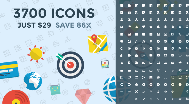 ecommerce vector icons - banner
