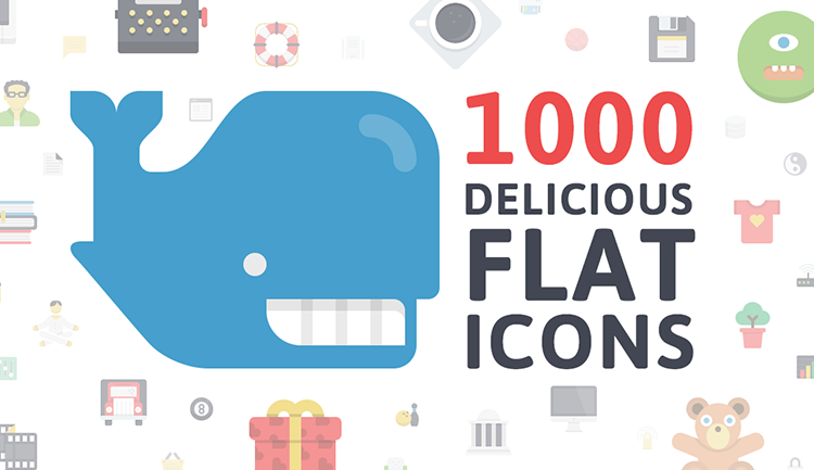 flat icon pack - banner