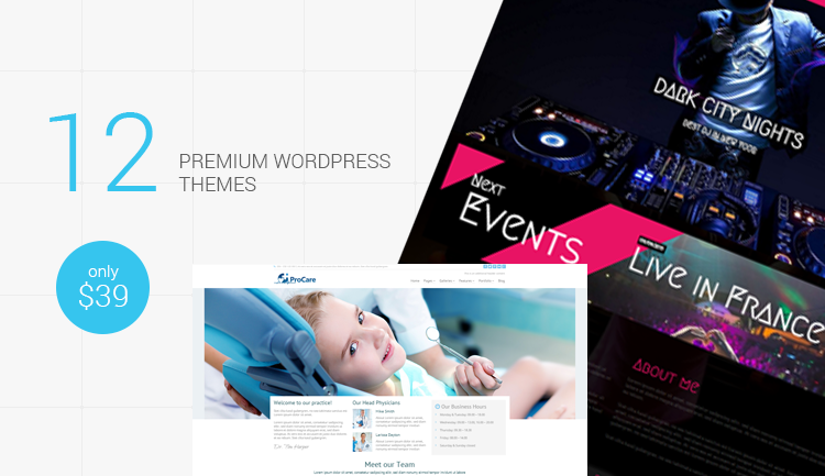 multipurpose wordpress themes - banner