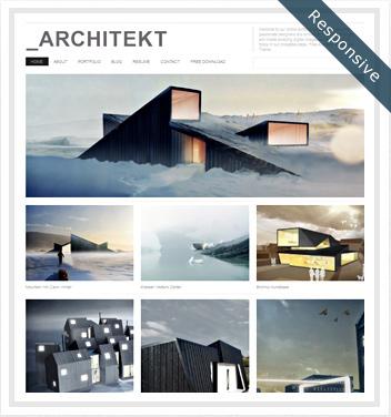 creative wordpress themes - architekt-theme1