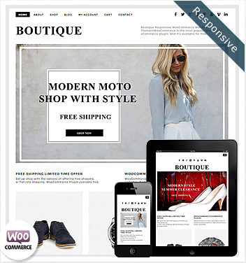 wordpress design themes - boutique-theme-woocommerce