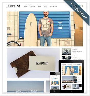 creative wordpress themes - business-wordpress-theme