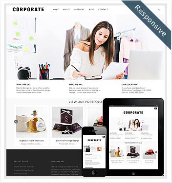 creative wordpress themes - corporate-theme-wordpress