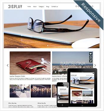 creative wordpress themes - display-theme-responsive