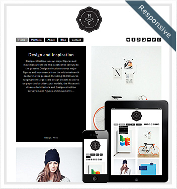 creative wordpress themes - double-grid-theme