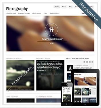 creative wordpress themes - flexography-theme-responsive