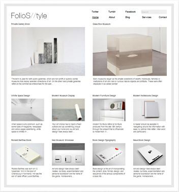 creative wordpress themes - folio-style-theme
