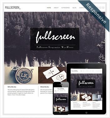 creative wordpress themes - fullscreen-theme-wordpress