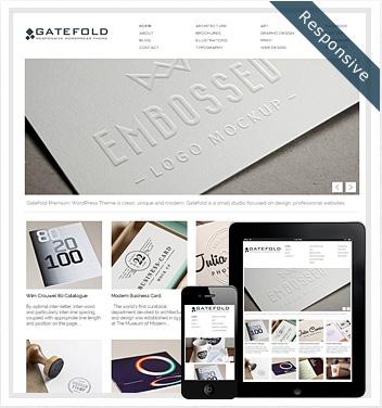 creative wordpress themes - gatefold-wordpress-theme2