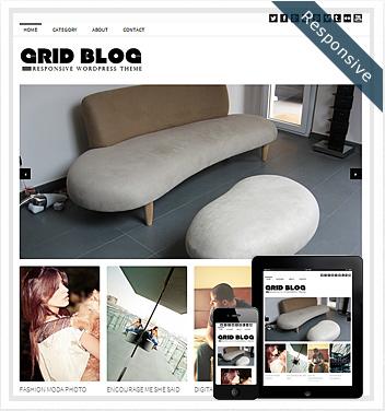 creative wordpress themes - grid-blog-theme-responsive
