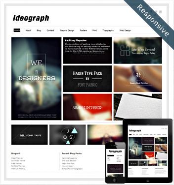creative wordpress themes - ideograph-theme1