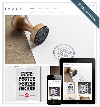 creative wordpress themes - image-responsive-theme