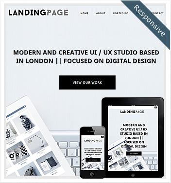 creative wordpress themes - landing-page-theme-responsive