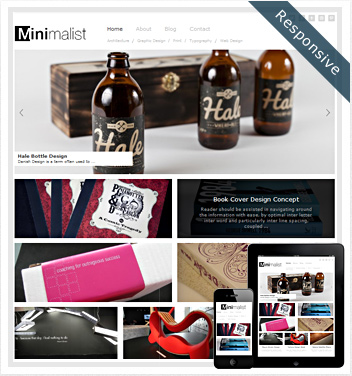 creative wordpress themes - minimalist-theme-wordpress