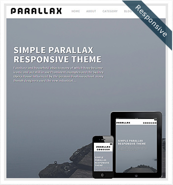 creative wordpress themes - parallax-theme-responsive