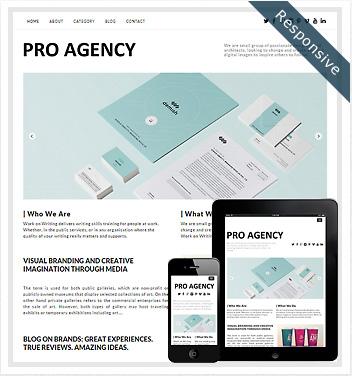 creative wordpress themes - pro-agency-theme