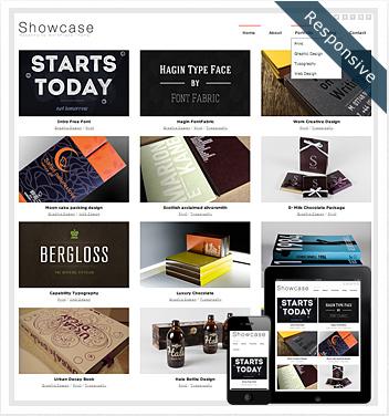 creative wordpress themes - showcase-theme-wordpress