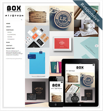 creative wordpress themes - side-box-theme