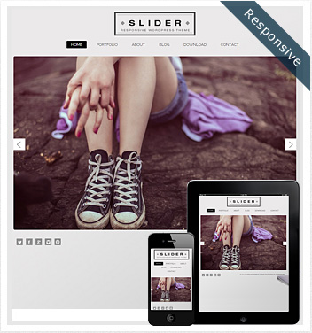creative wordpress themes - slider-wordpress-theme