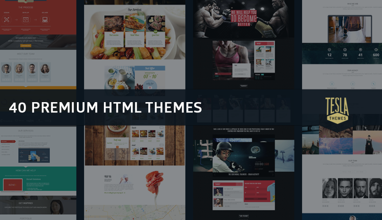 responsive web design templates - 2