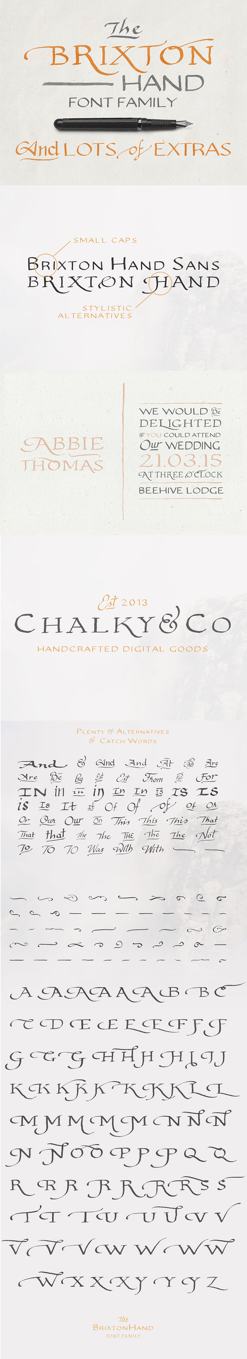 handwritten calligraphy font - bonus-brixton-hand-01
