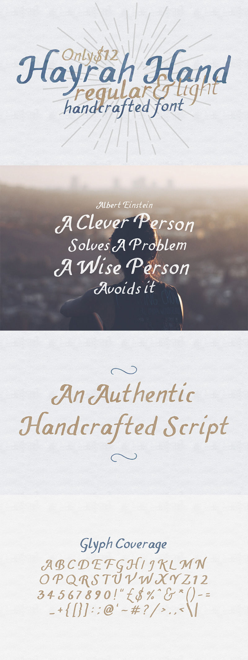 handwritten calligraphy font - hayrah-hand-01