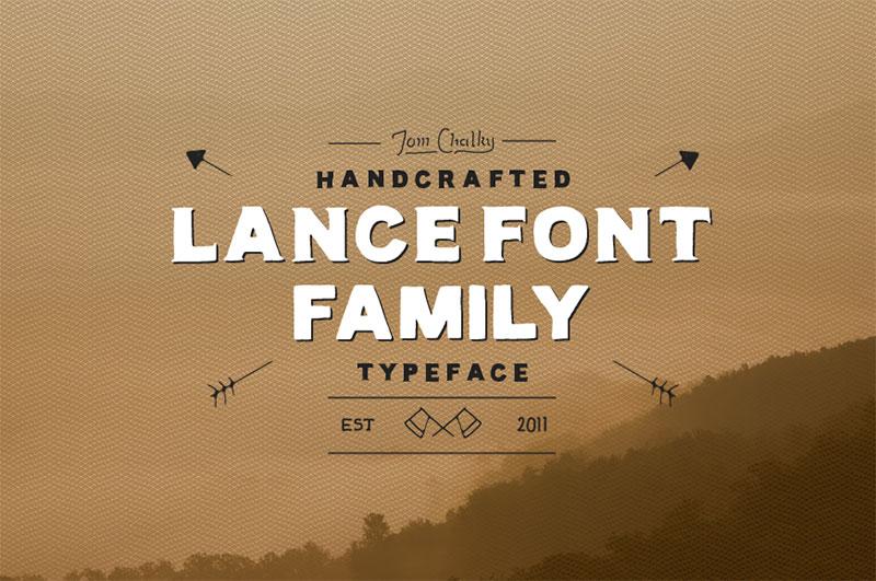 handwritten calligraphy font - lance-01