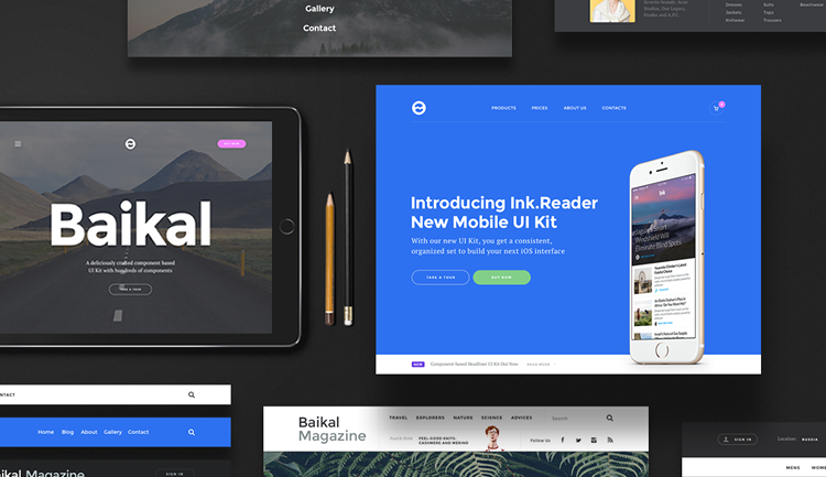 web ui design tools - banner