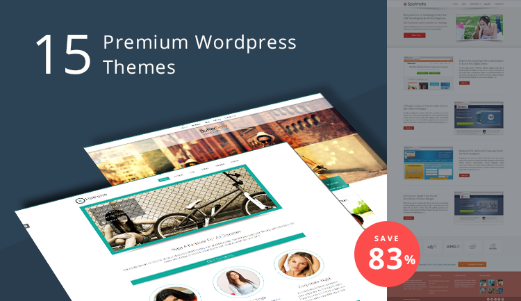 unique wordpress themes - banner