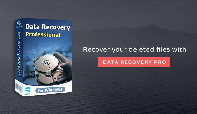 Recovery software for deleted files