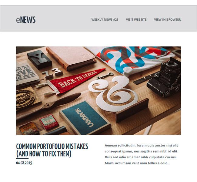Premium Newsletter Templates | Email Marketing TemplatesGreedeals