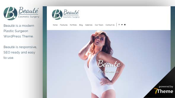 Beaute WordPress Theme- Launch Your Website