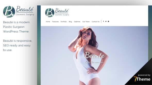 Beaute WordPress Theme- Launch Your Website