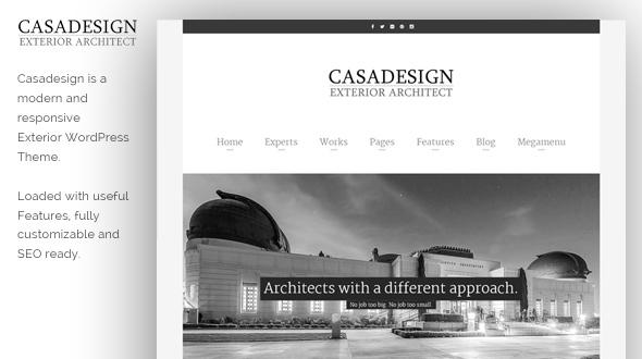 Casadesign WordPress Theme- Launch Your Website