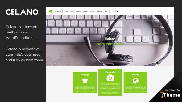 Celano WordPress Theme- Launch Your Website