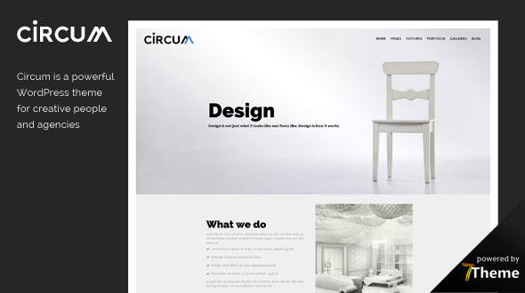 Circum WordPress Theme- Launch Your Website
