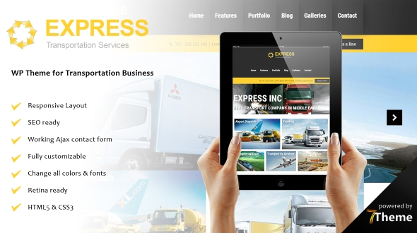 Express WordPress Theme- Launch Your Website