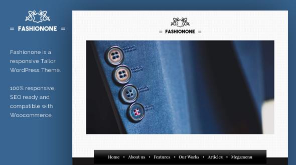 Fashionone WordPress Theme- Launch Your Website