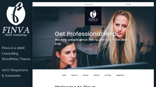 Finva WordPress Theme