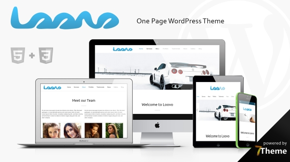Loovo WordPress Theme- Launch Your Website