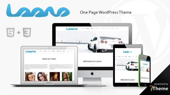 Loovo WordPress Theme- Launch Your Website
