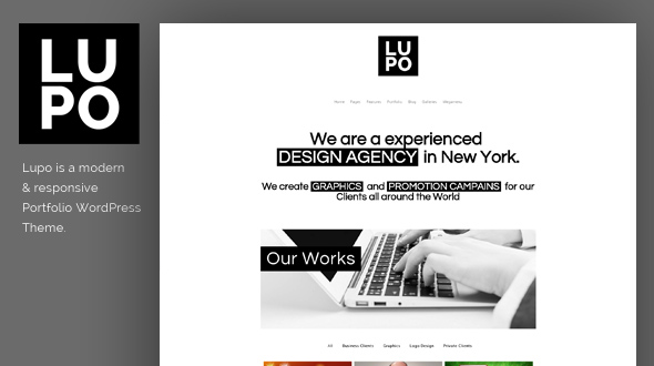 Lupo WordPress Theme- Launch Your Website