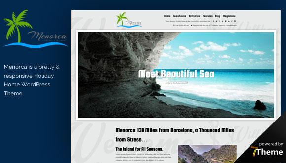 Menorca WordPress Theme- Launch Your Website