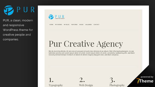 Pur WordPress Theme- Launch Your Website