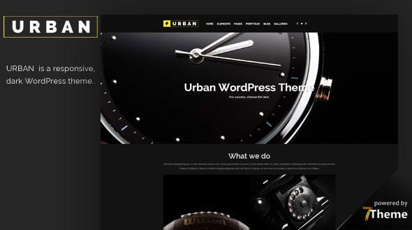 Urban WordPress Theme- Launch Your Website